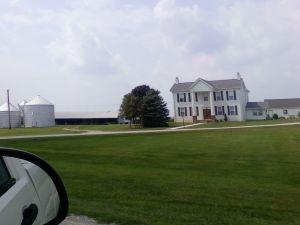 Majestic Old Farm House
