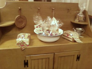 Country Home Crafts Display