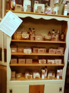 Goat Milk Soap Display