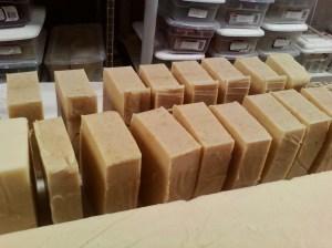Honey Oatmeal and Rosemary Mint Goat Milk Soap