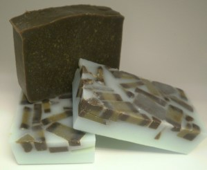 Chocolate Mint Goat Milk Soap