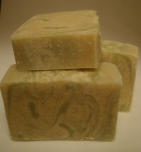 Green Apple Cinnamon Goat Milk Soap
